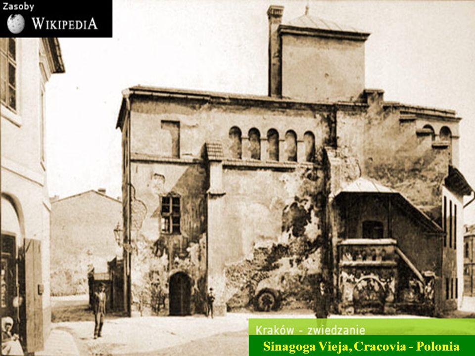Sinagoga Vieja, Cracovia - Polonia