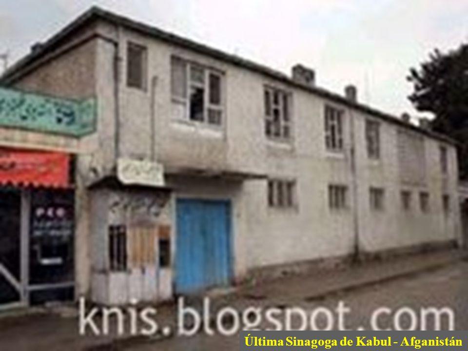 Última Sinagoga de Kabul - Afganistán