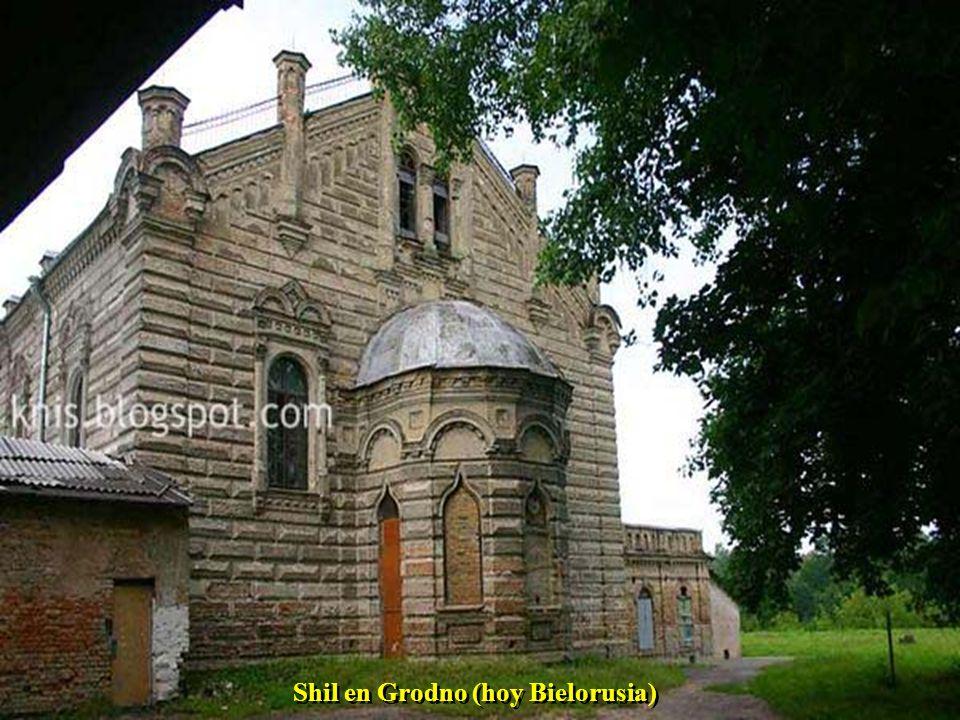 Shil en Grodno (hoy Bielorusia)