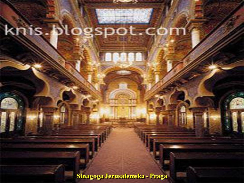 Sinagoga Jerusalemska - Praga