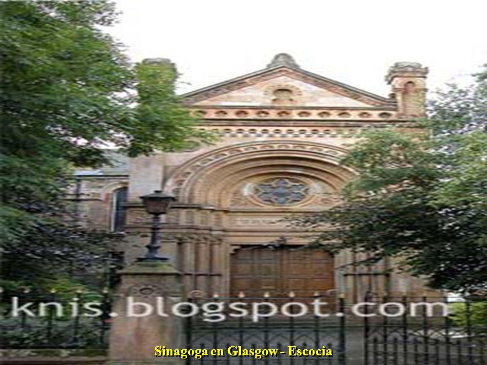 Sinagoga en Glasgow - Escocia