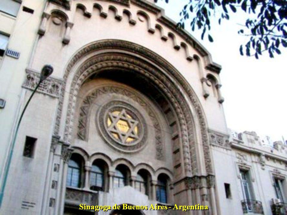 Sinagoga de Buenos Aires - Argentina