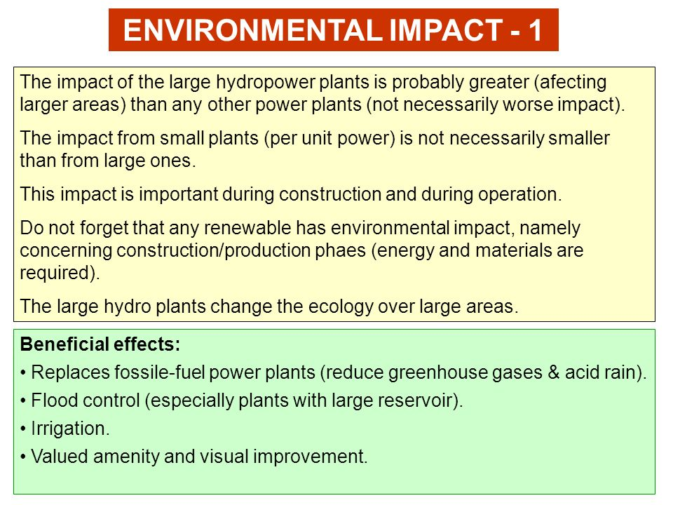 Environmental impact of wind power
