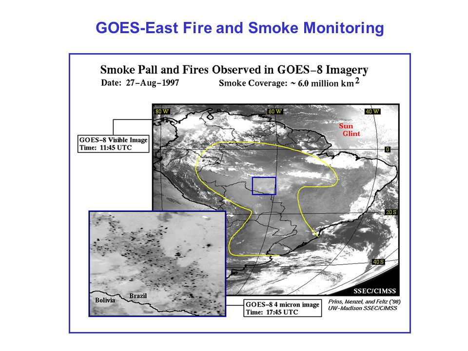 GOES-East Fire and Smoke Monitoring