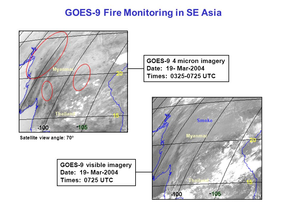 GOES-9 Fire Monitoring in SE Asia
