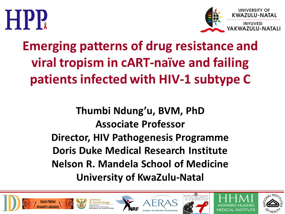 Emerging patterns of drug resistance and viral tropism in cART-naïve and failing patients infected with HIV-1 subtype C
