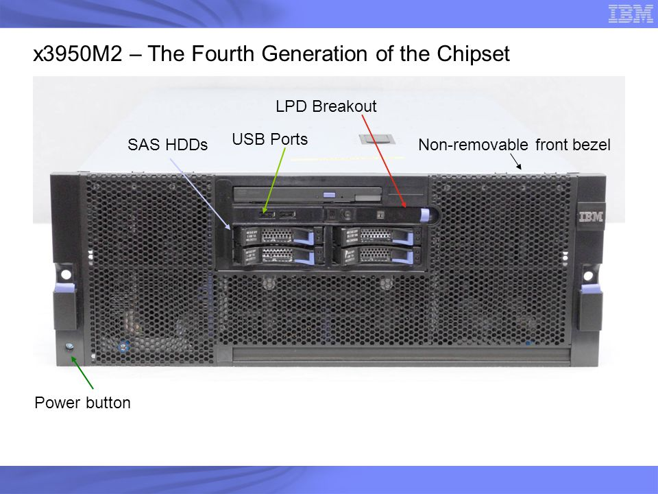 x3950M2 – The Fourth Generation of the Chipset