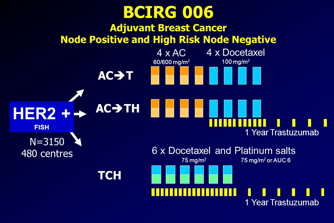 Adjuvant Breast Cancer Node Positive and High Risk Node Negative