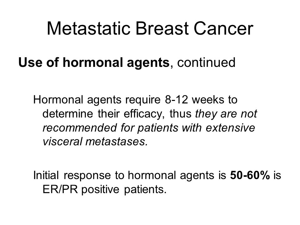 Metastatic Breast Cancer