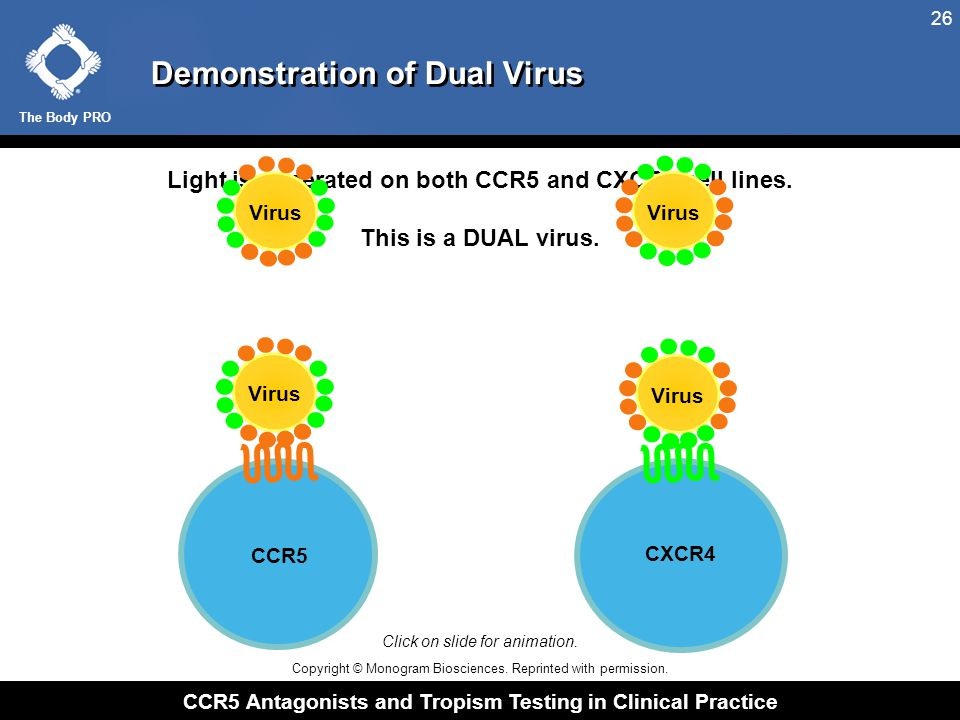 Demonstration of Mixed Virus Population