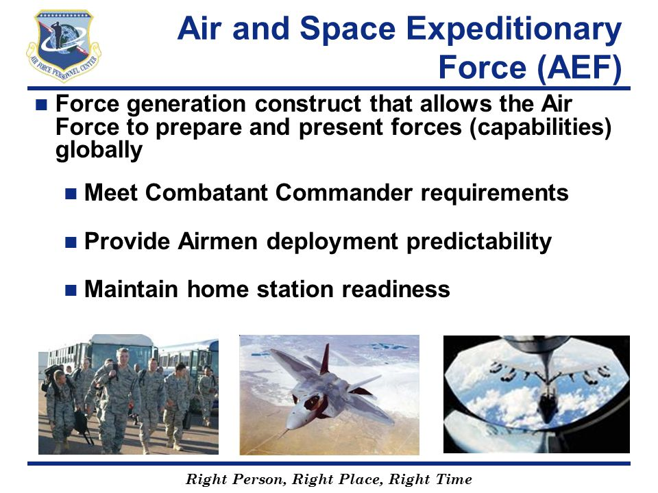 Air and Space Expeditionary Force (AEF)