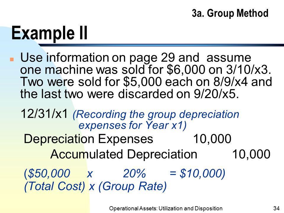 3a. Group Method Example II