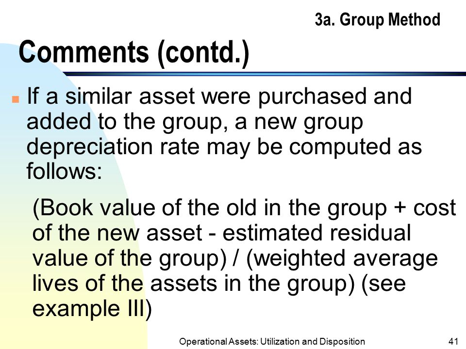 3a. Group Method Comments (contd.)