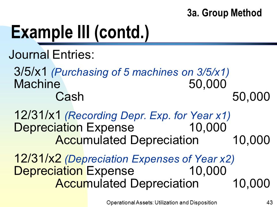 3a. Group Method Example III (contd.)