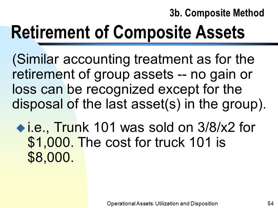 3b. Composite Method Retirement of Composite Assets