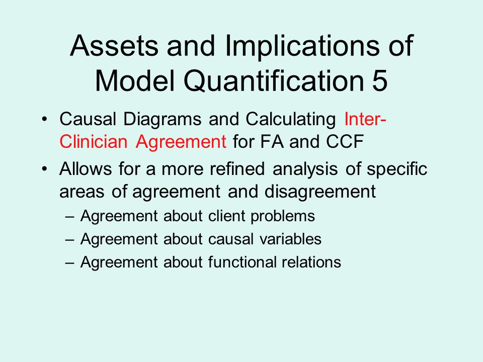 Assets and Implications of Model Quantification 5