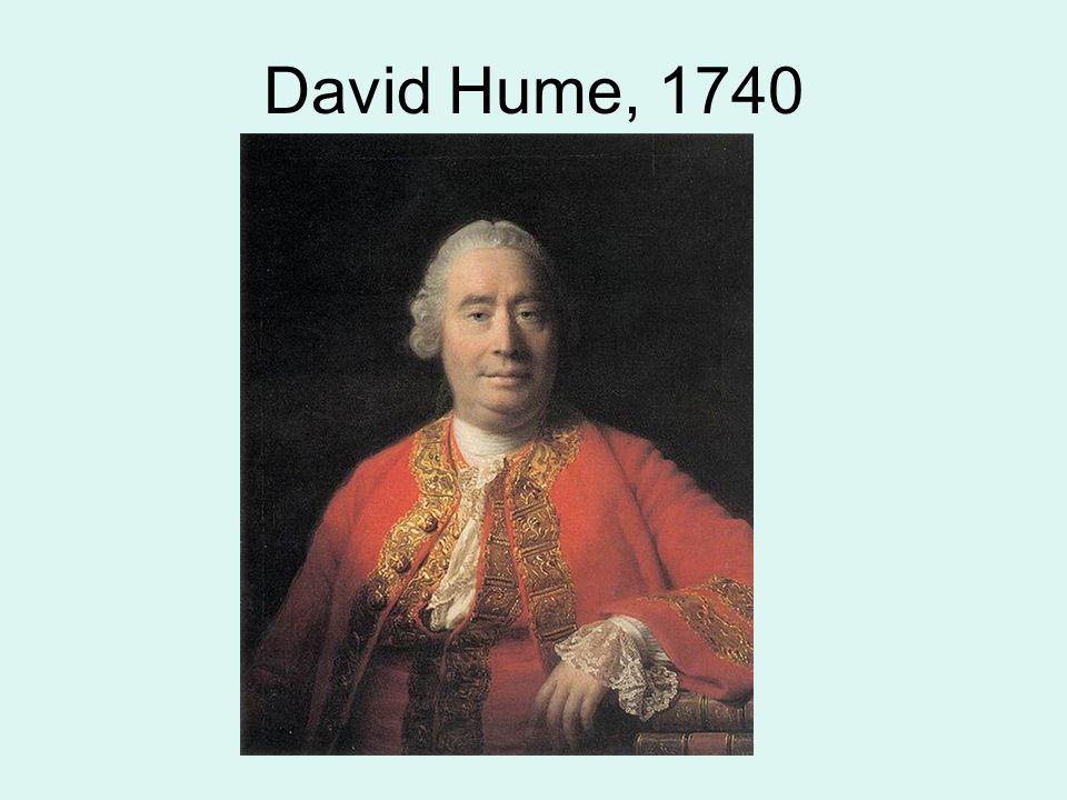 David Hume, 1740