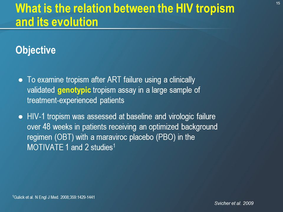 What is the relation between the HIV tropism and its evolution