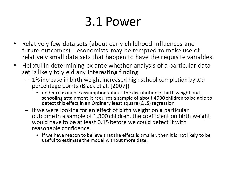 3.1 Power