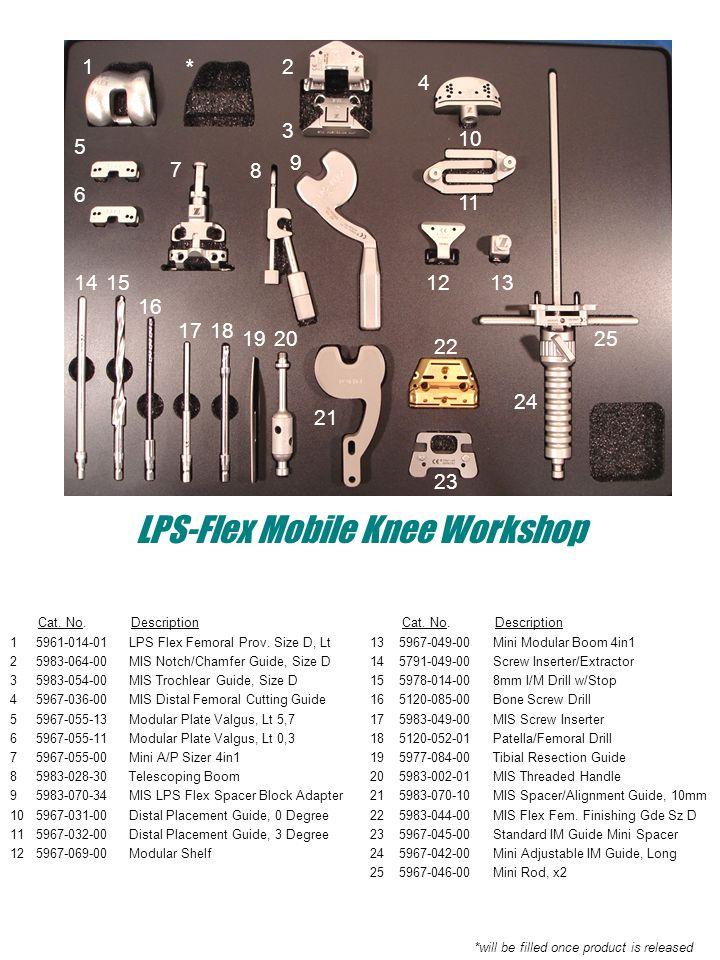 LPS-Flex Mobile Knee Workshop