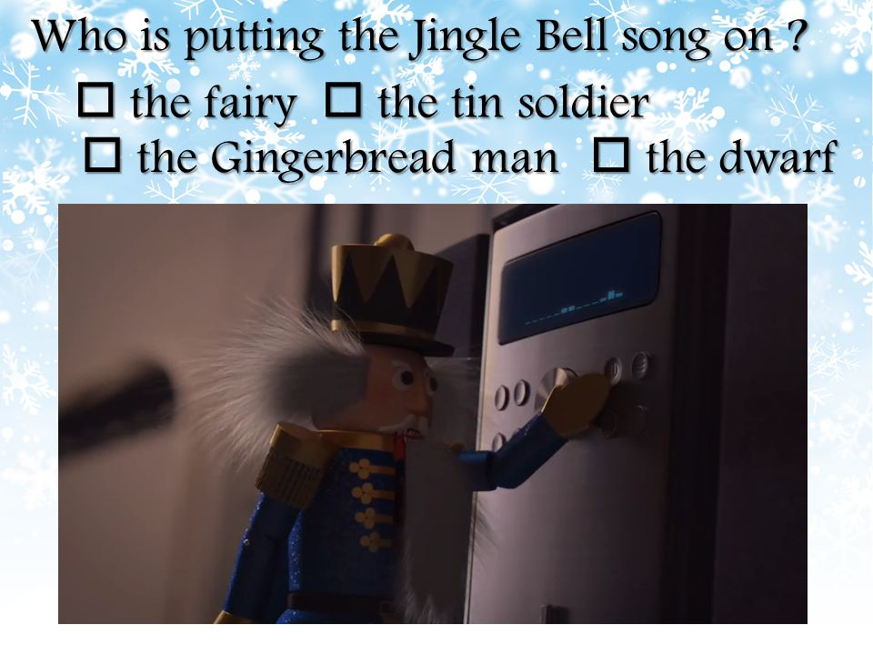Who is putting the Jingle Bell song on
