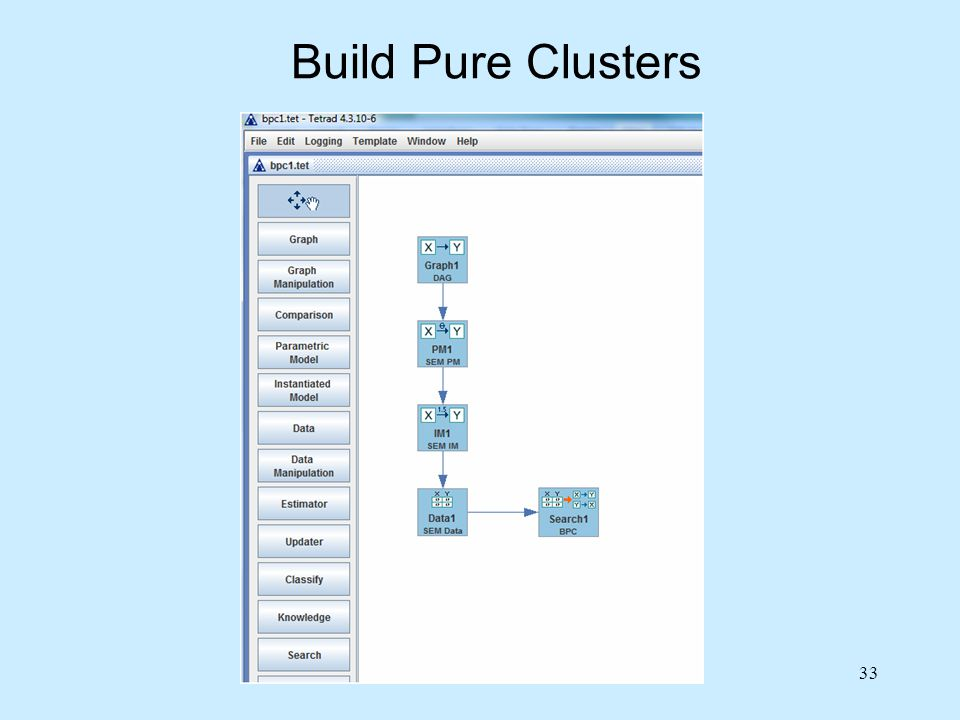 Build Pure Clusters