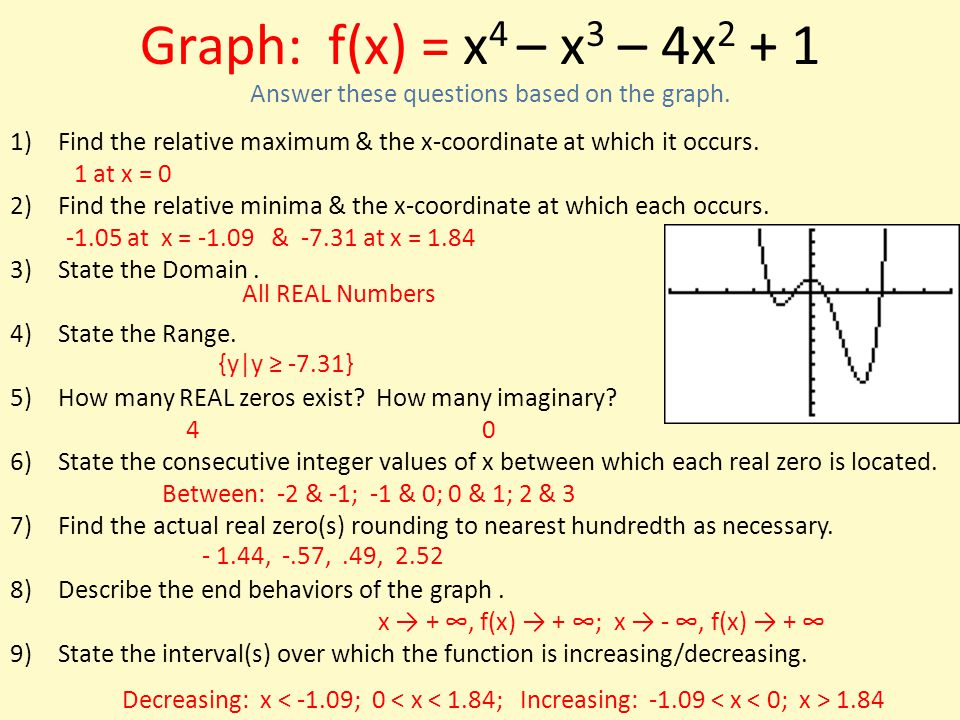 how to find the relative maximum on a graphing calculator