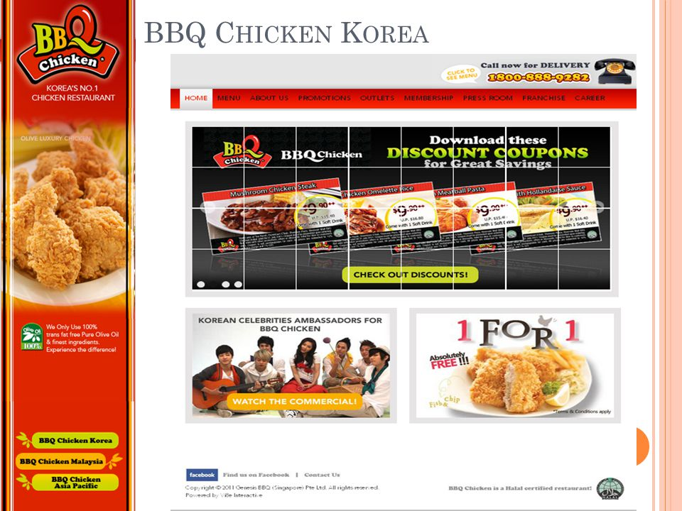 BBQ Chicken Korea