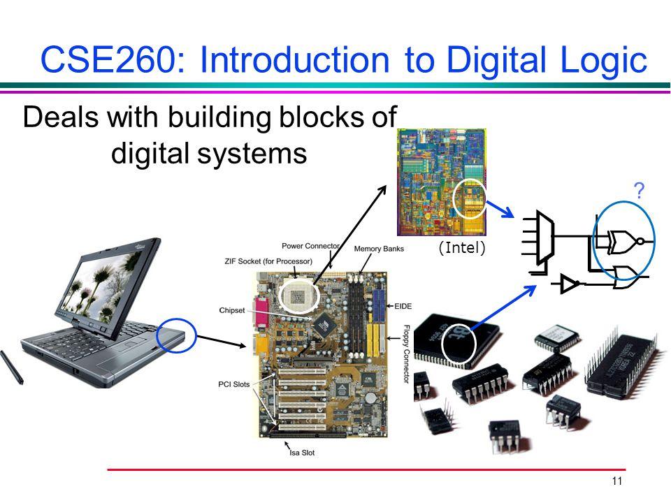 CSE260: Introduction to Digital Logic