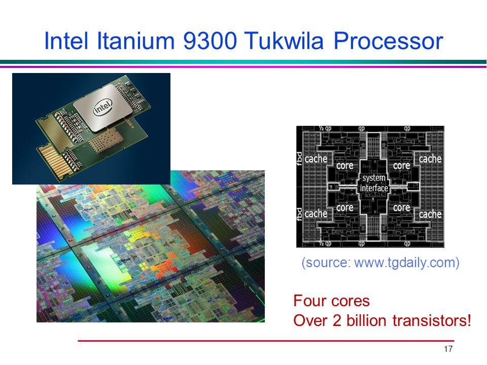 Intel Itanium 9300 Tukwila Processor