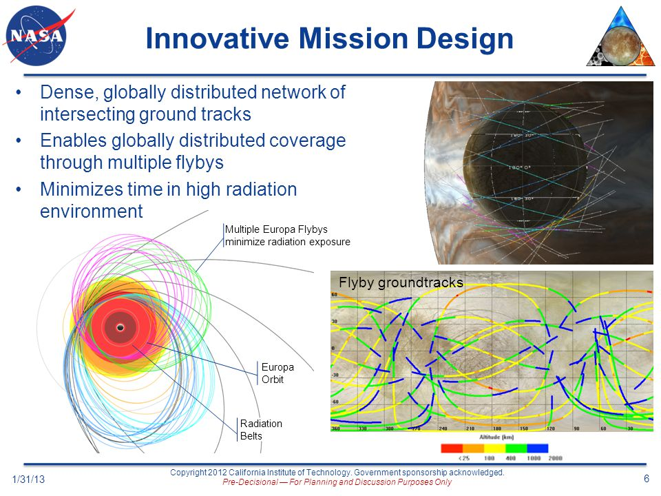 Innovative Mission Design
