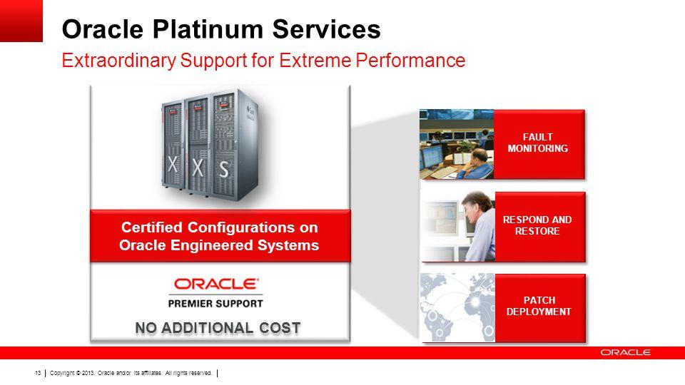 Oracle Platinum Services