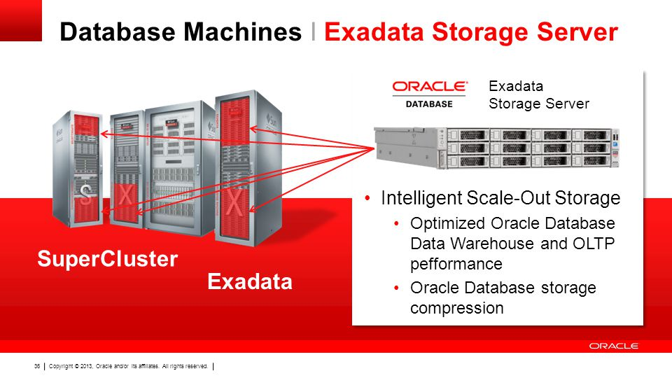 Database Machines I Exadata Storage Server