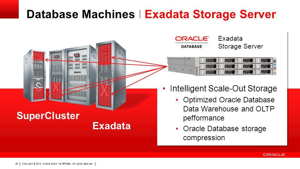 Database Machines I Exadata Storage Server