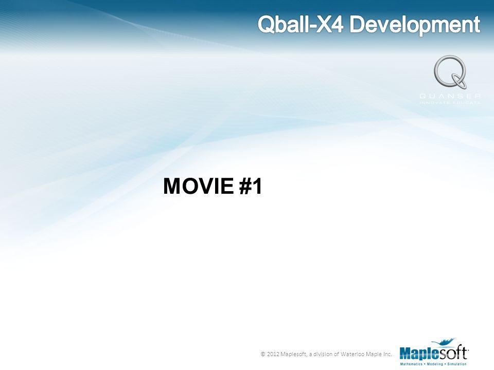 Qball-X4 Development MOVIE #1