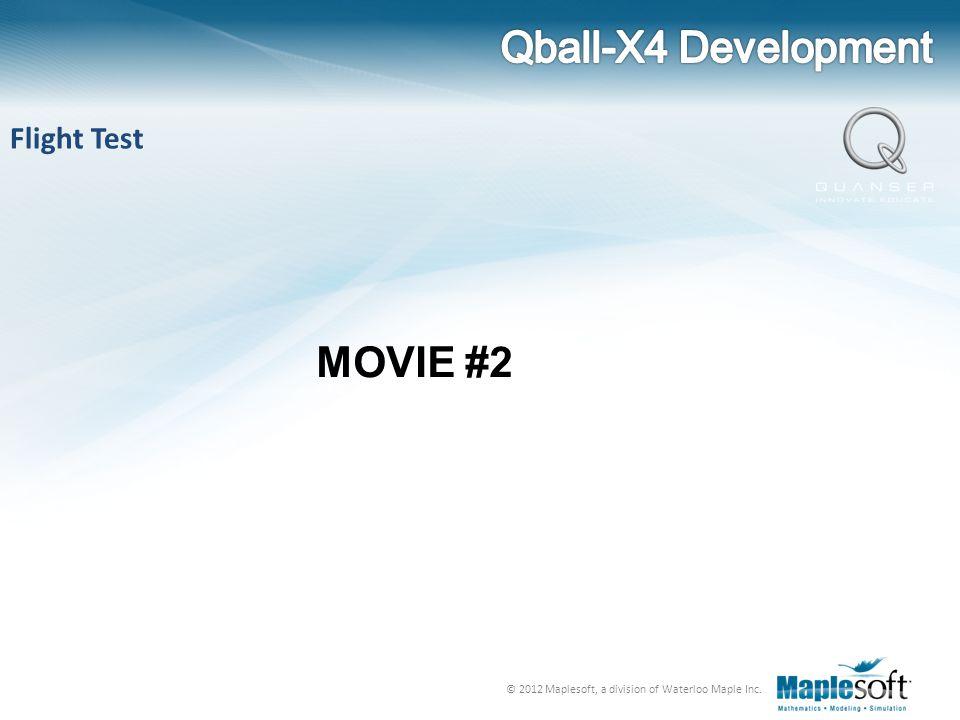 Qball-X4 Development Flight Test MOVIE #2