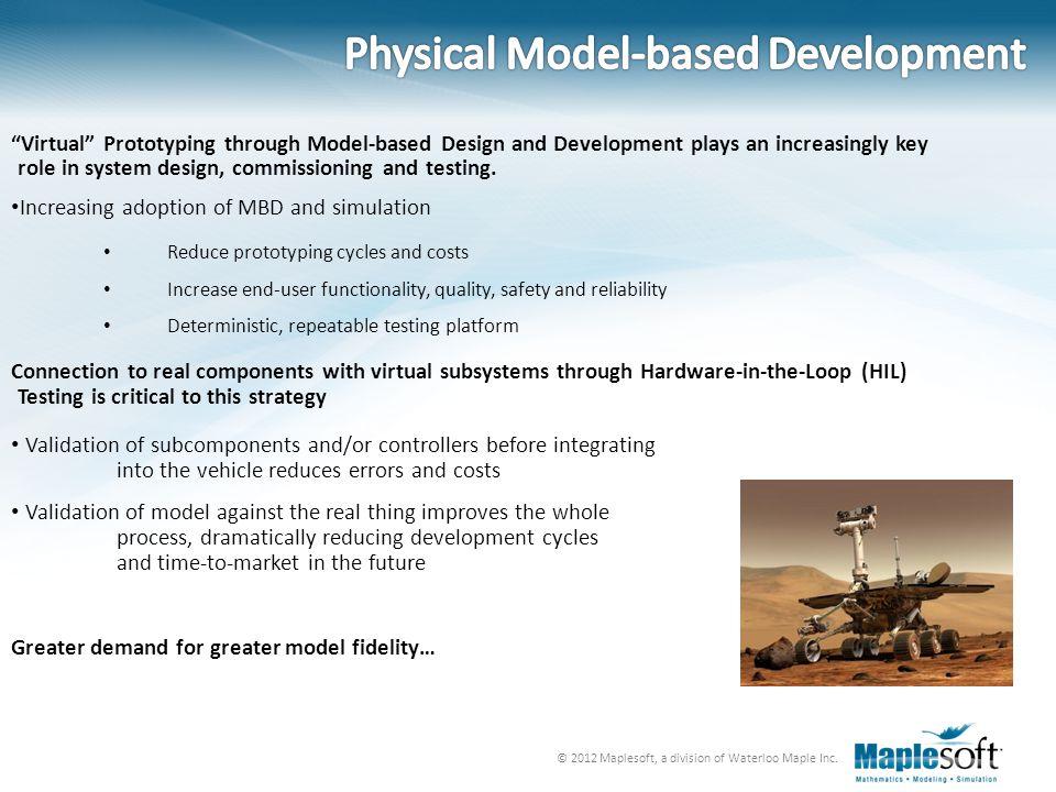 Physical Model-based Development