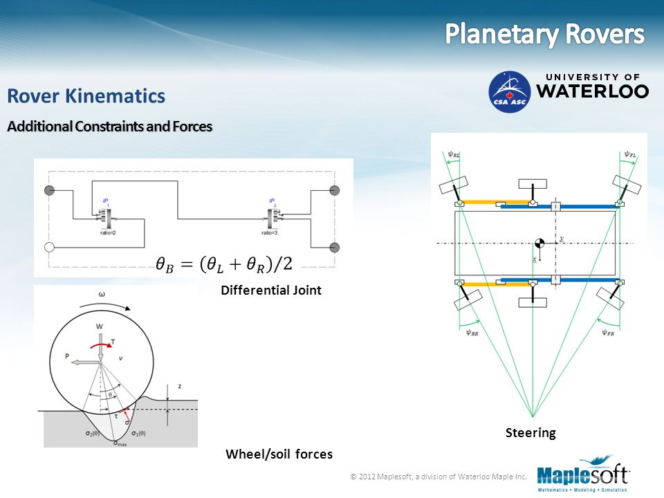 Planetary Rovers Rover Kinematics Additional Constraints and Forces