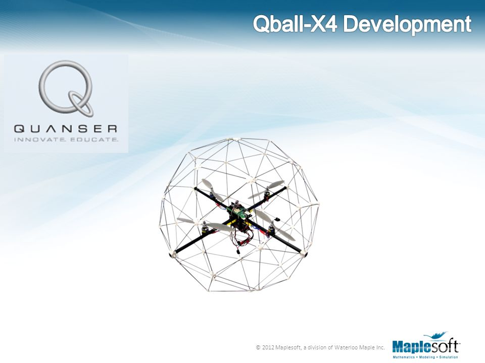 Qball-X4 Development