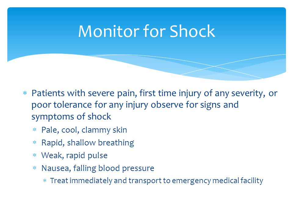 Monitor for Shock