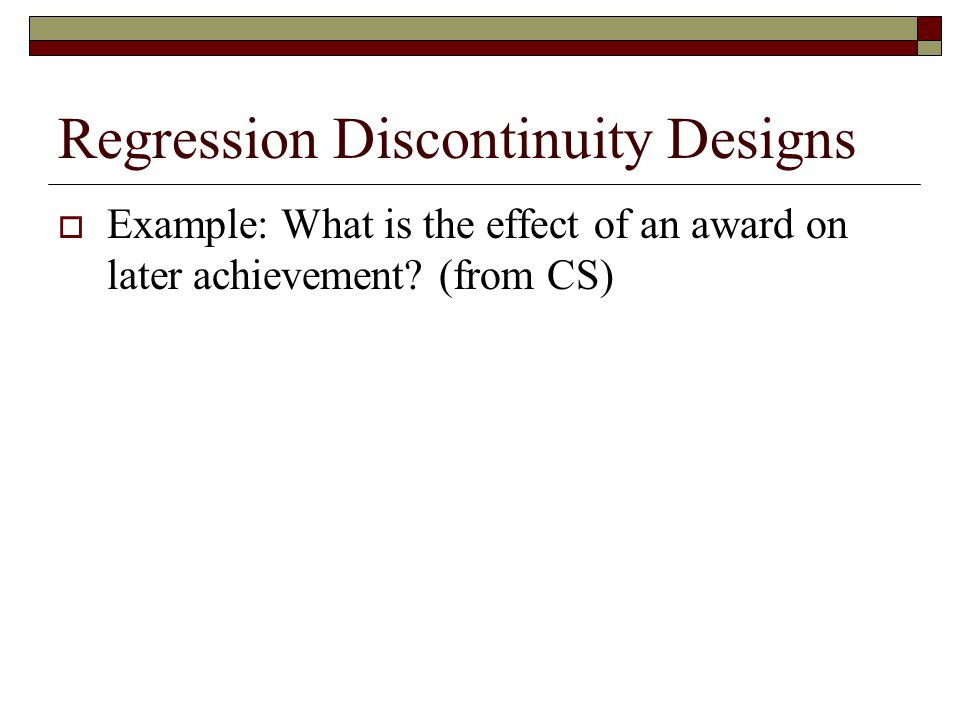Regression Discontinuity Designs