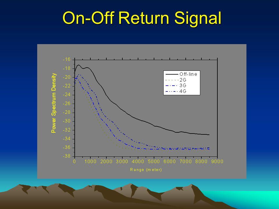 On-Off Return Signal