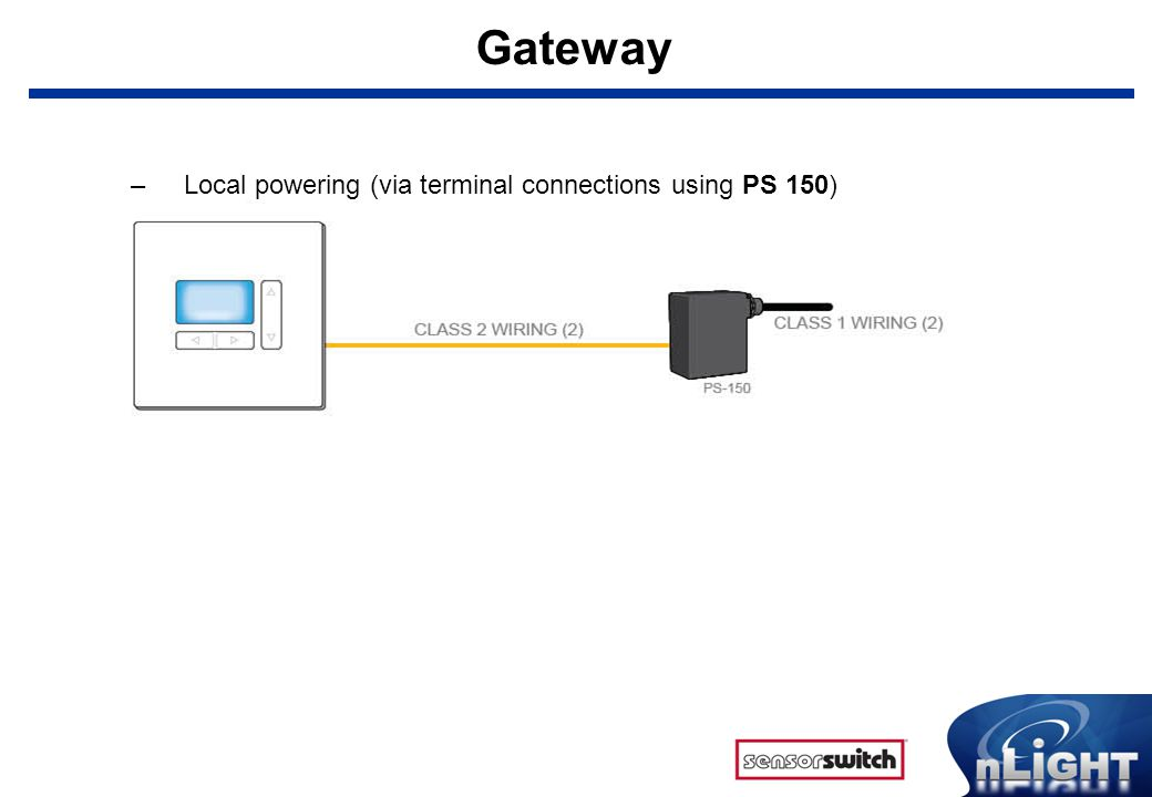 Gateway+Local+powering+%28via+terminal+connections+using+PS+150%29 what is nlight? nlight is a revolutionary digital architecture and sensor switch nlight wiring diagrams at pacquiaovsvargaslive.co