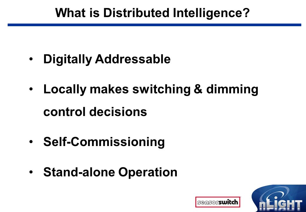 What is Distributed Intelligence