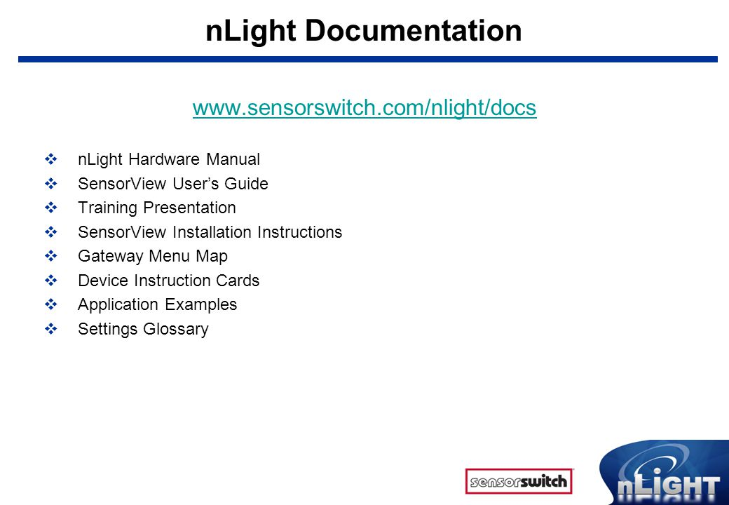 nLight+Documentation+www.sensorswitch.com%2Fnlight%2Fdocs what is nlight? nlight is a revolutionary digital architecture and sensor switch nlight wiring diagrams at pacquiaovsvargaslive.co