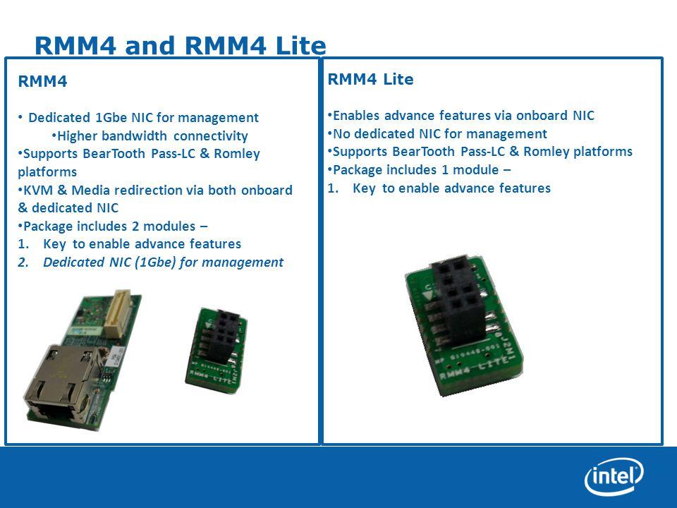 RMM4 and RMM4 Lite RMM4 Lite RMM4