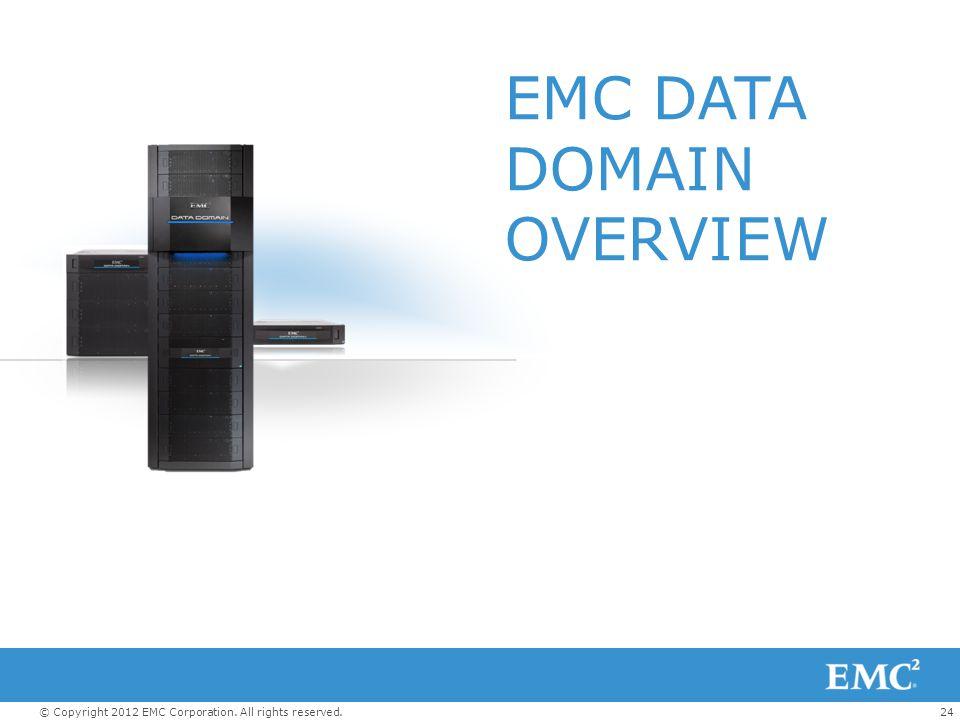 EMC DATA DOMAIN OVERVIEW