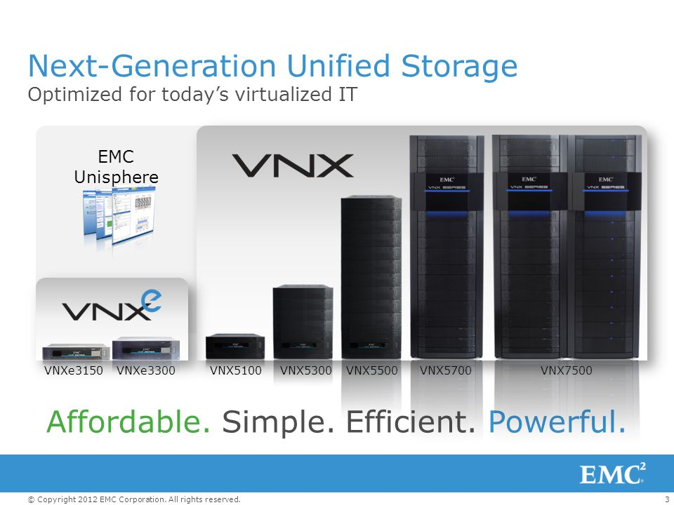 Next-Generation Unified Storage