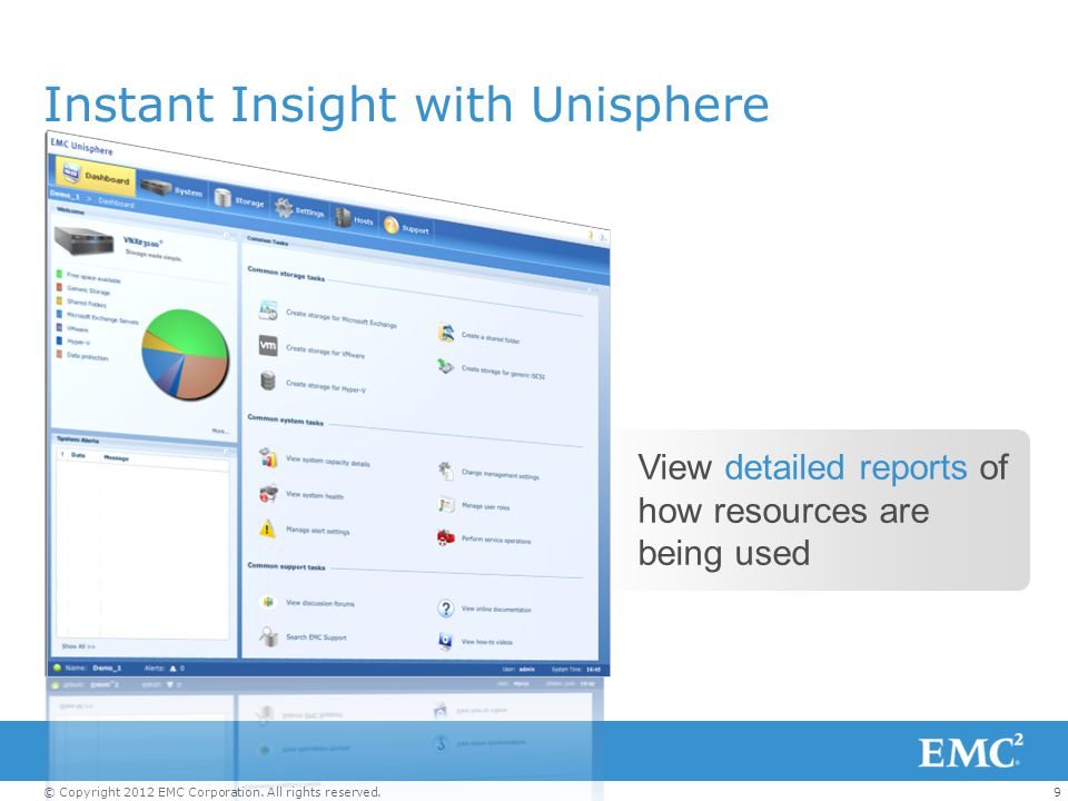 Instant Insight with Unisphere