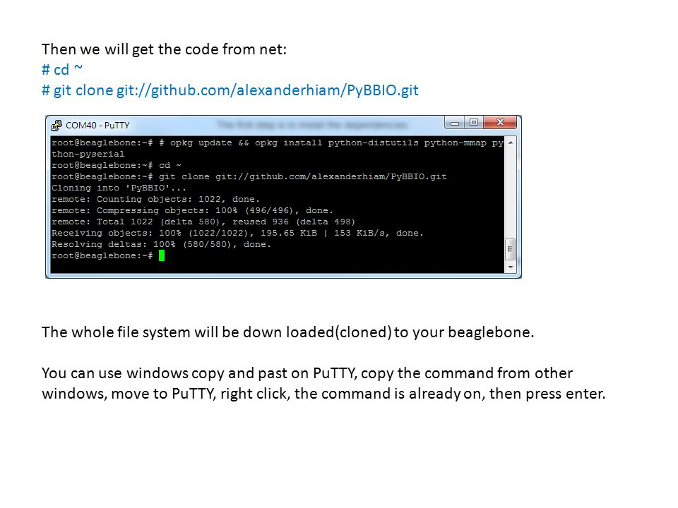 Then we will get the code from net: